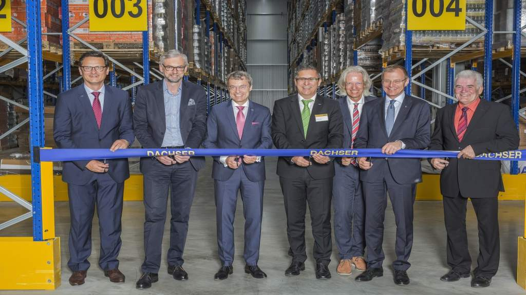 Grand opening of the new warehouse in Hörsching.